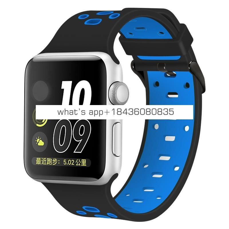 Sport Silicone Band Strap for Apple Watch Series 4 40mm 44mm