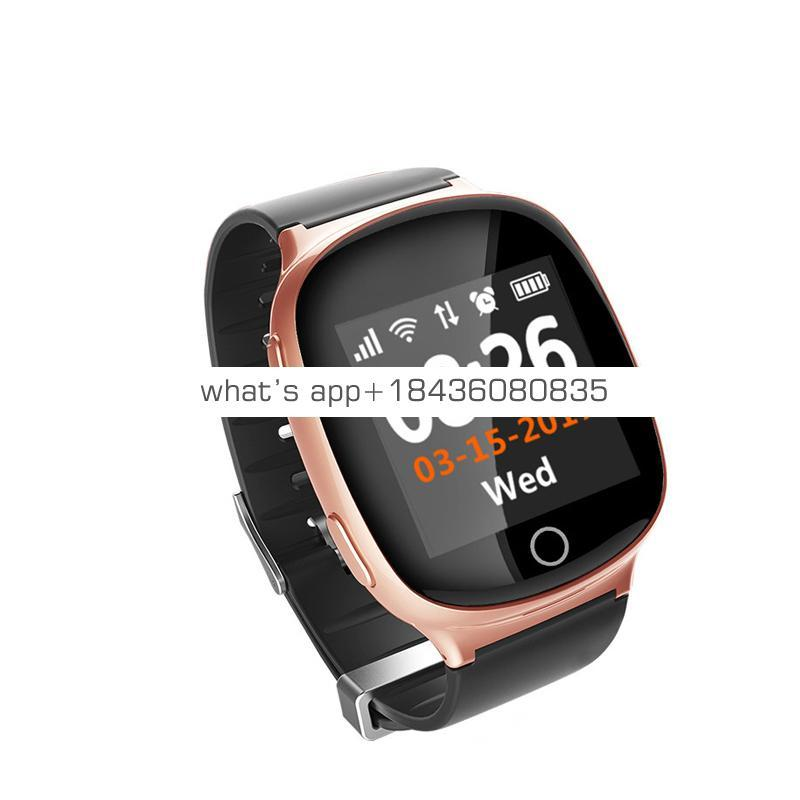 TKYUAN Smart Watch Heart Rate Tracker Monitor With Anti-Lost Gps LBS WIFI Smartwatch For Ios Android SOS Elderly Watch
