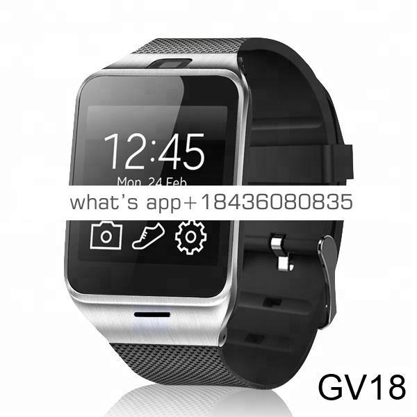 Wholesale Sport Sim Watch Phone Smartwatch Android V8 GT98  DZ09 GV18 GT08 Smart Watch 2018