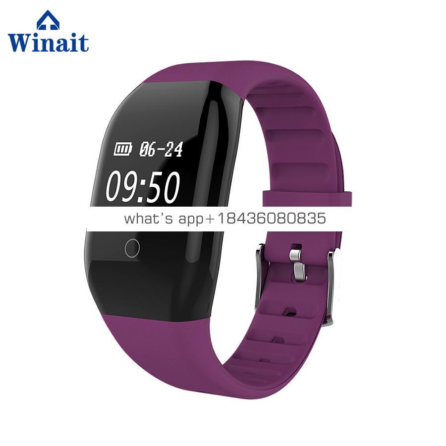 Winait 608HR smart bracelet with steps pedometer,Calorie burnt,Distance Track,Sleep monitor,Li Battery