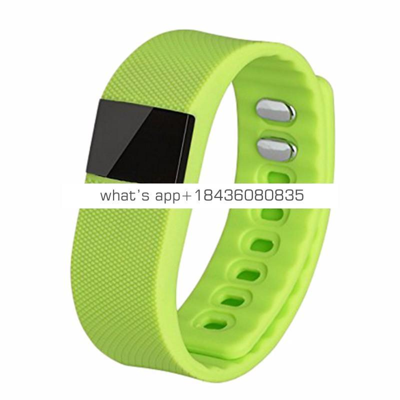 Winait hot sale wireless bracelet TW64 with Time Display,sedentary reminder,remote camera