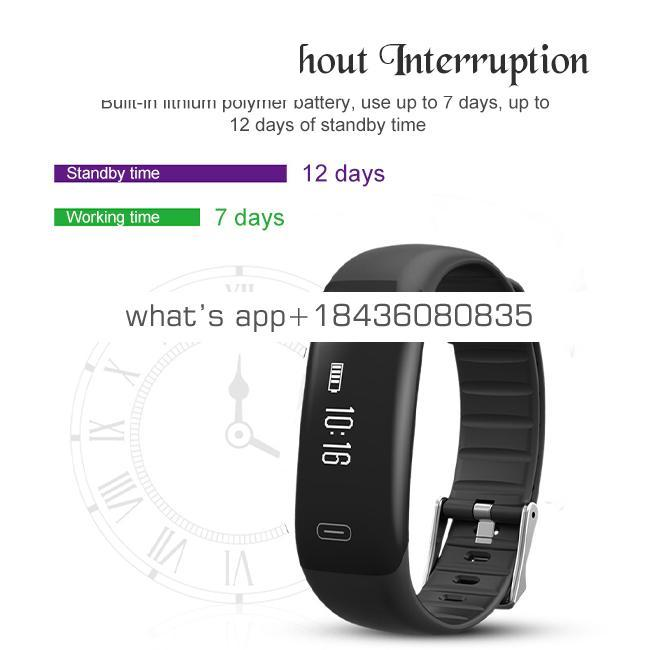 Z18 Smart Band Smart Bracelet Heart Rate Monitor Wristband Support with SOS