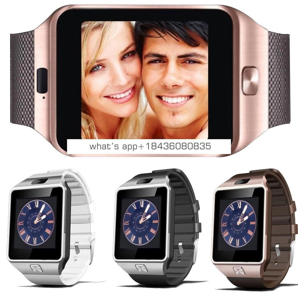 amazon top seller mobile watchDZ09 phones with sim card for los android phones Support Multi languages