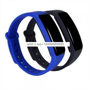 2017 Heart rate sports BT bracelet waterproof swimming smart wristband