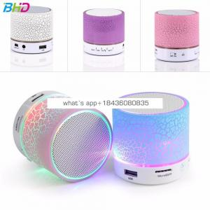 2017 best selling Mini Speaker Wireless Smart LED Musical Audio Hand-free Subwoofer Loudspeakers For Phone With Mic TF