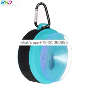 2017 custom logo waterproof wireless speaker portable speaker