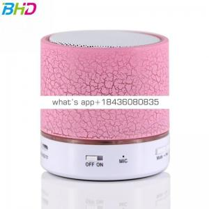 2017 factory direct sale new Wireless Small Music Audio TF USB FM Light Stereo Sound Speaker For Laptop Phone MP3