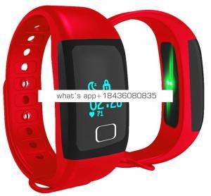 2017 newest IP67 smart sports bracelet T1 wrist watch pedometer
