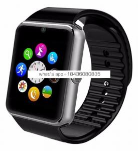 2018 Hot Selling Touch Screen Sim Card Smartwatch GT08 Android Sport Smart Watch With Camera