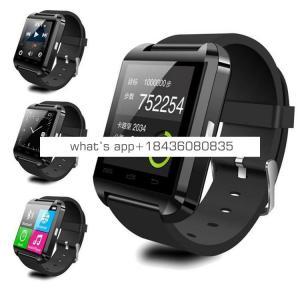 2018 best gift bluetooth smartwatch for xiaomi for sumsang U8 wireless smart watch sim for huawei