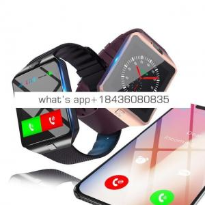 2018 new smart watch DZ09 smart watch android support Multi languages and SIM Card wristwatch