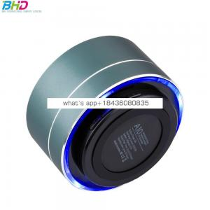 2018 night light oem customized smart blue tooth audio wireless speaker subwoof sound with Mic TF card