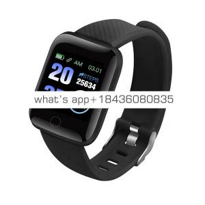 2019 Newest Bluetooth Waterproof 116 plus Health Watch Heart Rate Monitor Smart Bracelet