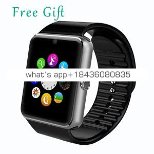 2019 Wholesale Android Camera Bluetooth Smartwatch Wrist Mobile Smart Watch Phone  GT08 Sport Smart Watch With Sim Card Slot
