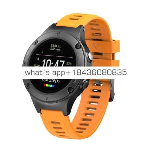 2019 waterproof sport watch GPS tracking smartwatch with 100m water resistant protection degree