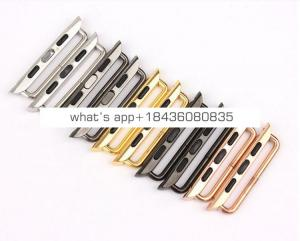 316 Stainless Steel Strap Lugs Watch Band Adapter Buckle Electroplating Clasp Connector for Apple Watch