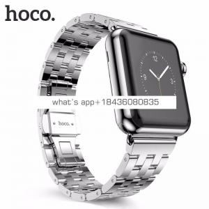 4 Colors 5 Links 316 Stainless Steel 38mm 42mm Replacement Strap Classic Buckle Watch Band for Apple Watch