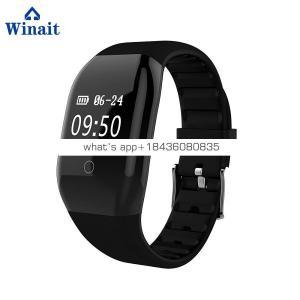 608 HR ip68 waterproof digital BT wristband, sports fitness bluetooth bracelet
