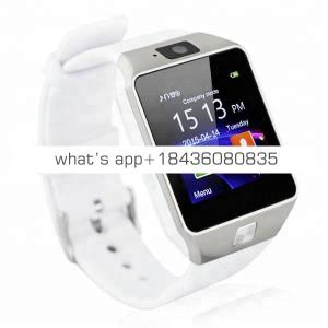 A Amazon Hot Selling Camera Sim Card Smartwatch Sport Smart Watch 2019 DZ09 for Android Phone