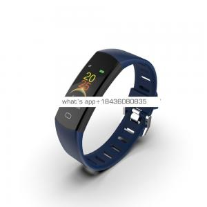 Android phone user manual customize sport bracelet wrist health OEM phone bluetooth oled smart watch slim