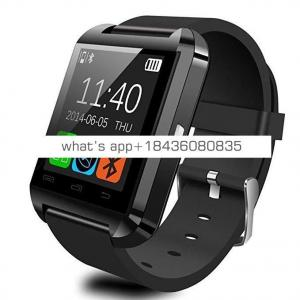 BHD promotion gift smartwatch 2018 Wireless Smart Watch u8 with MTK6261D chip