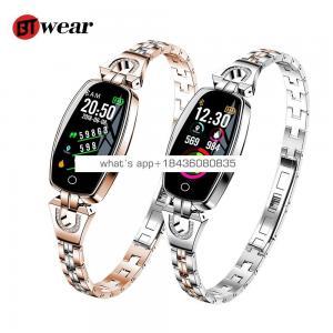 BTwear H8 Smart Watch Women 2019 Waterproof Heart Rate Monitoring Bluetooth For Android IOS Fitness Bracelet Smartwatch