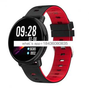 BTwear K1 Smart Watch Men Women IP68 Waterproof Clock Activity Fitness Tracker Heart Rate Monitor Smartwatch for IOS Android