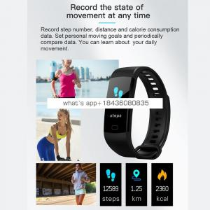 BTwear Y5 made in china wholesale smart watch y5 Colorful HD display Screen fitness tracker