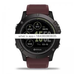 BTwear Y77 2018 factory price leather zeblaze smart watch heart rate monitor blood pressure