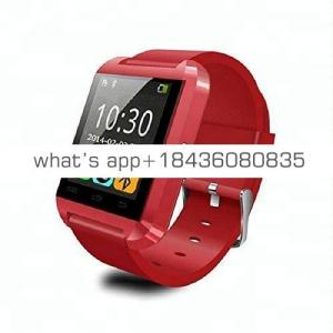 Best China Wholesale Man Smart Wrist Watch Phone Bluetooth Android Smartwatch U8 Smart Watch Without Camera And Sim Card Slot