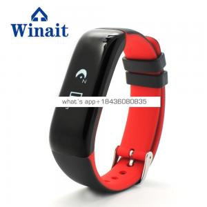 Blood pressure and heart rate monitor intelligent Wristband