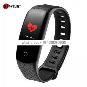 CB608 Smart Bracelet Color Screen Blood Pressure Fitness Tracker Heart Rate Monitor Sport Men Women Band