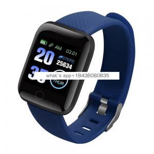 CE ROHS 116 Plus Heart Rate Smart Watch Bracelet