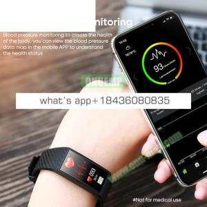 CE ROHS FCC ID Approved IP68 HR Fitness Tracker DT58 Smart Watch Bracelet Band