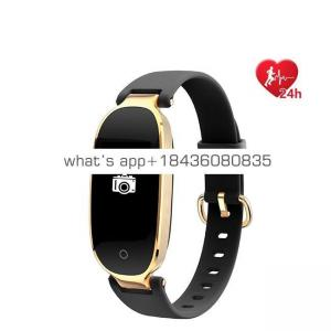 CE ROHS S3 Heart Rate Fitness Watch Smart Bracelet for Women