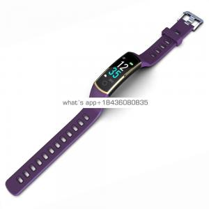 China latest unique business android healthy sport smart watch fitness bracelet OLED display for women