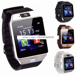 Christmas Gift Bluetooth Wrist Mobile Watch Phone Smart Watch Support Sim Memory Card