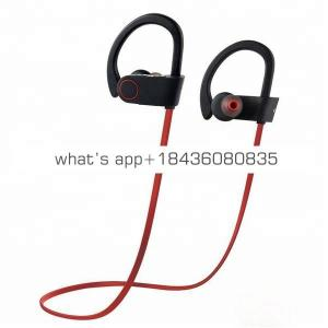 Christmas Gift Noise Cancelling Stereo Sound In-Ear Sport Blue tooth  Wireless Headphone Headset Earphone