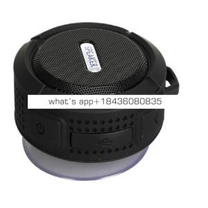 Christmas Gift mini wireless outdoor soundbar shower speaker c6