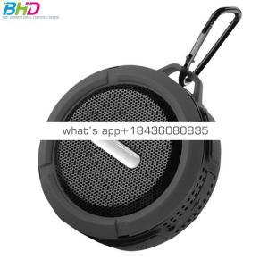 Custom logo gift portable wireless car subwoofer bike speaker