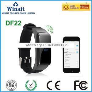 DF22 wireless smart watch bracelet/BT earphone combined with bracelet