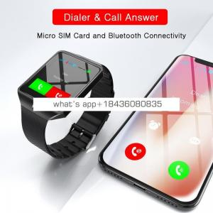 DZ09 Smart Watch Clock With Sim Card Slot Push Message BT Connectivity ForAndroid Phone Better Than Smartwatch Men Watch