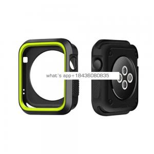 Double Color Silicone Case for Apple Watch Series 38mm 42mm