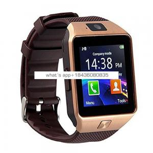 Dz09 Telofono Smart Watch SmartWatch with Sim TF Card Camera Anti-lost for Android Smartphones