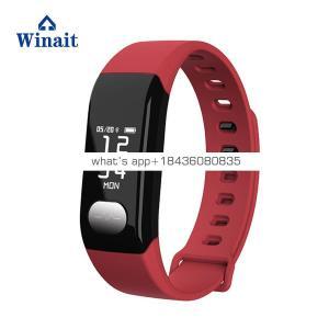 E29 ip67 waterproof heart rate smart bracelet, blood pressure BT watch