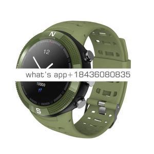 F18 Outdoor GPS Positioning Sports Smartwatch IP68 waterproof compass watch Call Message Reminder Heart Rate BT 4.2 Smart Watch