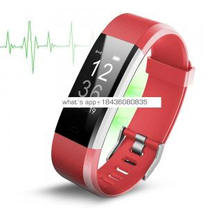 Factory Directly HR Monitor Fitness Tracker Sport Smart Watch 2019 Bracelet
