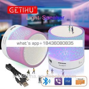 Factory wholesale portable speaker with fm transmitter radio metal car wireless bluetooth speaker