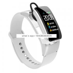Fitness Tracker IP65 Waterproof B31 Smart Sports Bracelet with Headset