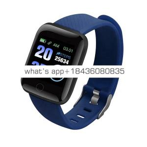 Fitness Tracker Watch Smart band Heart Rate Monitor Blood Pressure 116 Plus Bluetooth  Sports Smart Bracelet